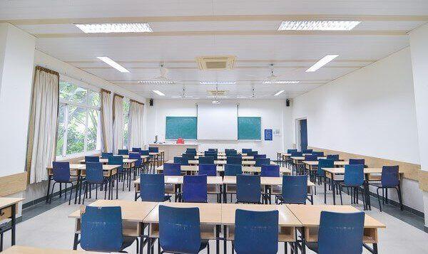 Đèn led tuýp thường được sử dụng trong chiếu sáng trường học