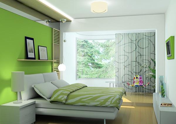 Đèn led chiếu sáng phòng ngủ