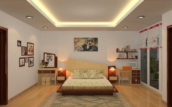 Đèn LED hắt trần là loại đèn rất phù hợp để trang trí trong phòng ngủ