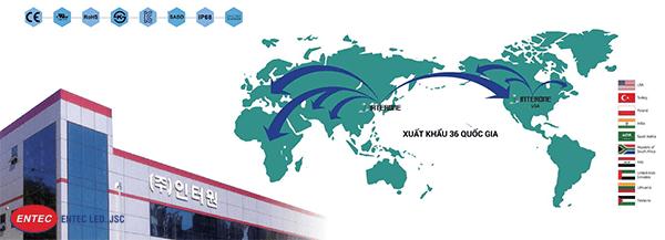 Entec Led nhập khẩu Module Led trực tiếp từ Hàn Quốc