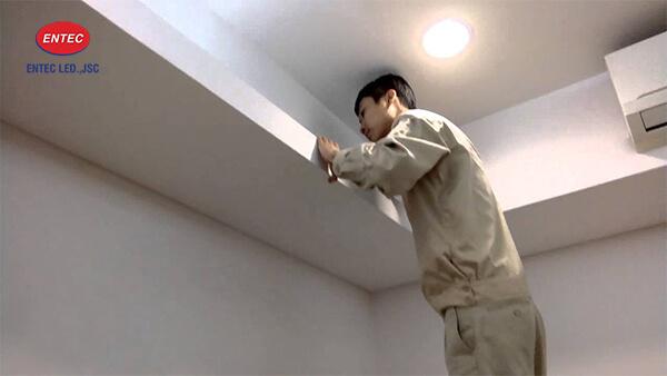 Lắp đặt đèn Led dây cho trần thạch cao
