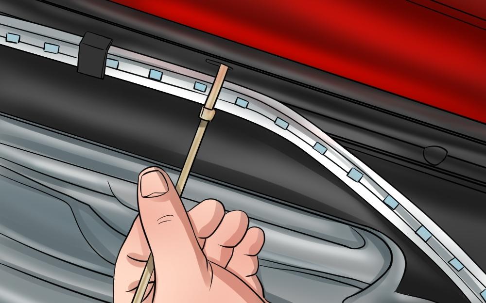 Gầm xe chất cực chất bởi đèn led dây xe oto