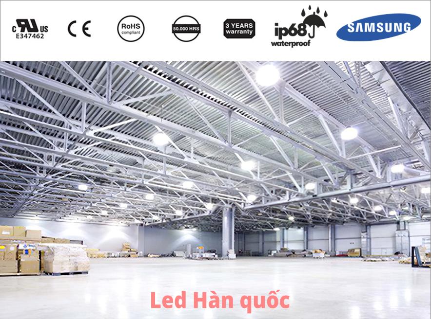 7 lợi ích khi doanh nghiệp sử dụng đèn LED công nghiệp Hàn Quốc