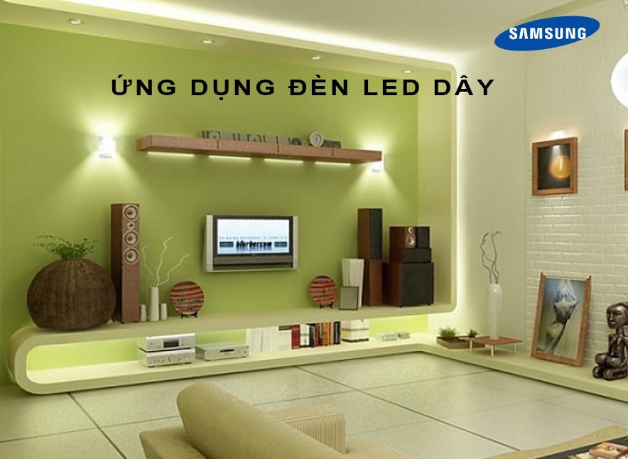 Sử dụng LED dây vào những mục đích gì?