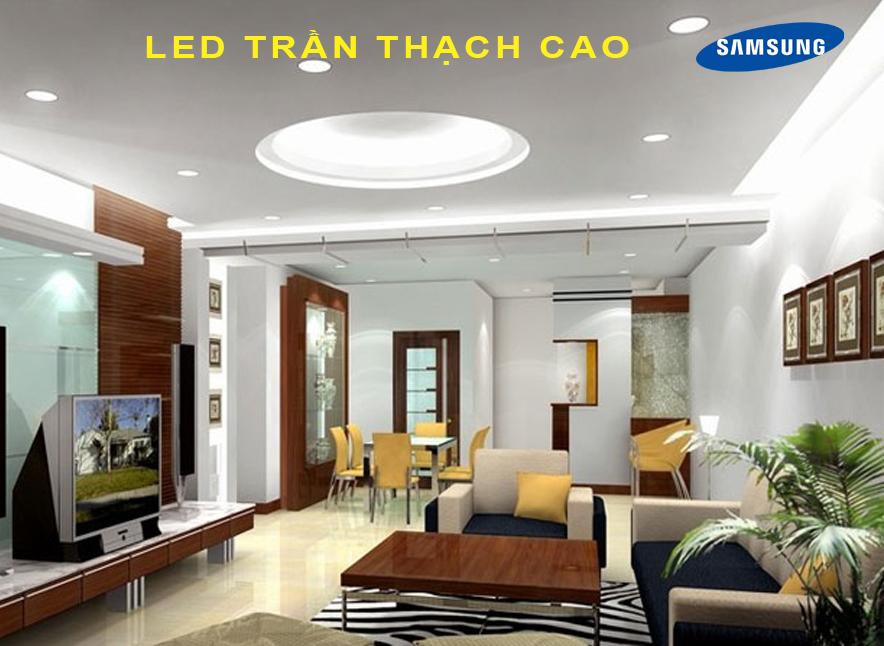 Sử dụng LED nào cho chiếu sáng trần thạch cao