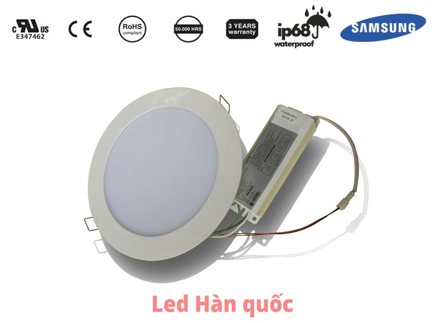 Tuổi thọ của đèn LED ốp trần nhập khẩu Hàn Quốc