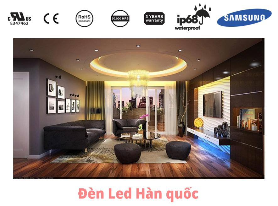 Lựa chọn loại đèn phù hợp với trần thạch cao gia đình