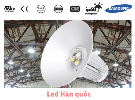 Đèn LED highbay có tuổi thọ trung bình là bao nhiêu?