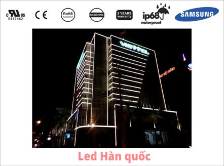 Sáng tạo trong việc sử dụng đèn LED gắn viền