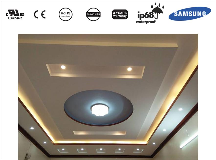 Sử dụng đèn LED trần thạch cao chuẩn đúng cách