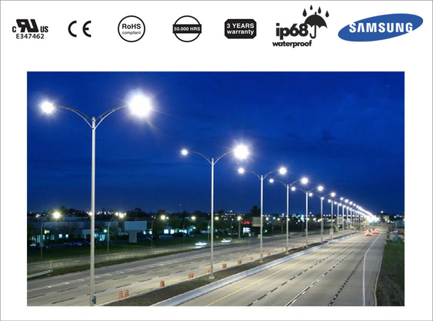 Tiết kiệm điện năng công cộng bằng đèn đường LED