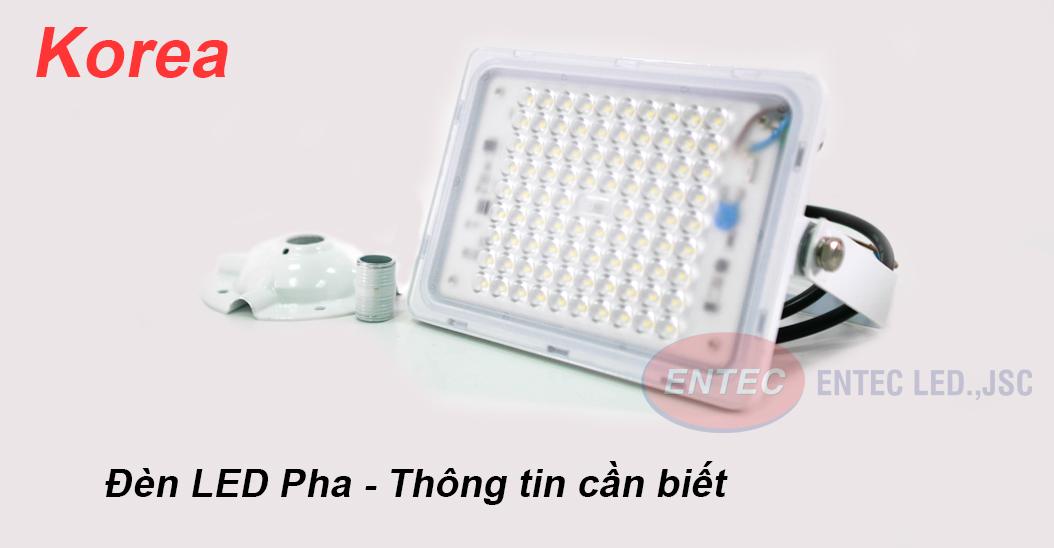 Cho những băn khoăn cần hiểu rõ về đèn LED pha