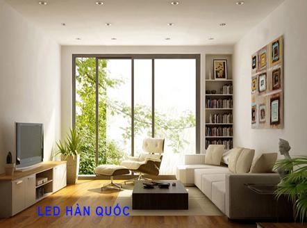 Lựa chọn ánh sáng phù hợp để trang trí phòng khách