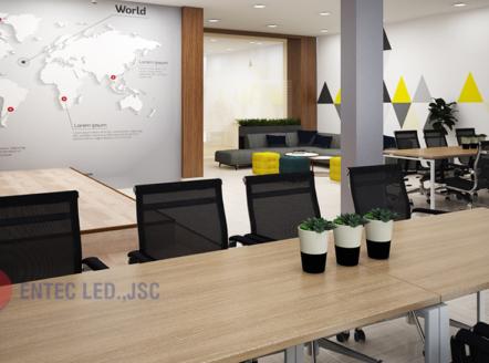 Đèn LED văn phòng mang lại hứng khởi hiệu quả công việc