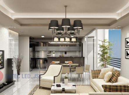 Làm thế nào để tạo nên ánh sáng của một phòng khách hoàn hảo