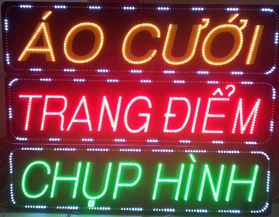 Tổng hợp biển đèn LED quảng cáo phổ biến trong cuộc sống