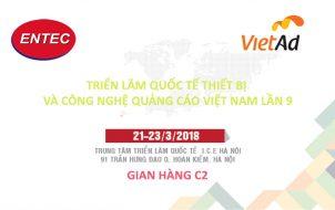 Công ty Cổ phần ENTEC LED tham dự Triển lãm VietAd 2018