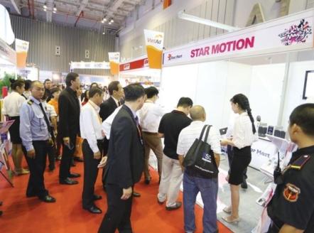Từ ngày 21 đến ngày 23/3, tại Trung tâm Triển lãm quốc tế I.C.E (số 91 Trần Hưng Đạo, Hoàn Kiếm, Hà Nội) diễn ra Triển lãm quốc tế Thiết bị và Công nghệ quảng cáo Việt Nam (Vietad).