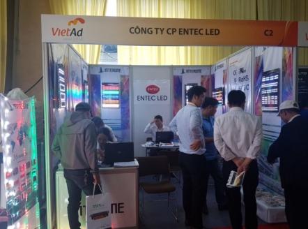 Vào ngày 21 đến ngày 23 tháng 03 năm 2018 vừa qua, Công ty Cổ phần ENTEC LED đã tham dự Triển lãm Quốc tế VietAd Hà Nội 2018 tại Trung tâm Triển lãm Quốc tế I.C.E – 91 Trần Hưng Đạo – Hoàn Kiếm – Hà Nội.