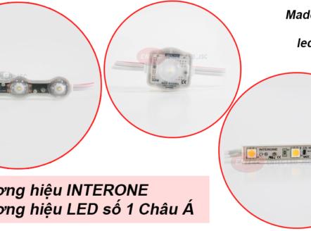 Bạn có muốn không gian sống của bạn luôn tươi mới, tạo cảm giác sáng bừng sức sống không? Sử dụng đèn led từ thương hiệu Interone Hàn Quốc đã được chứng nhận chất lượng là điều mà bạn nên làm ngay bây giờ.