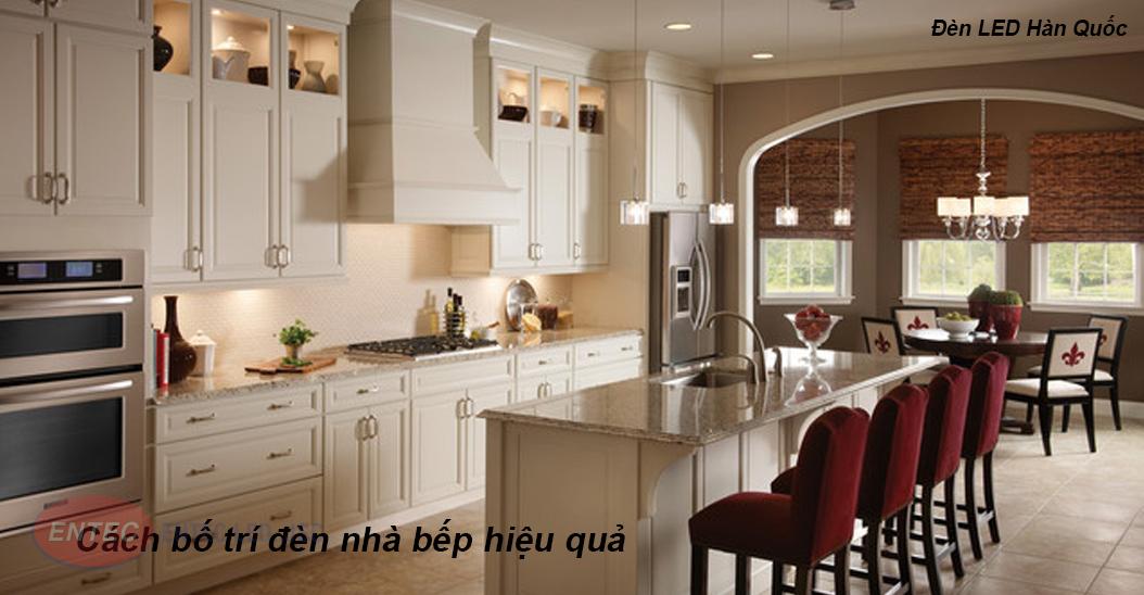 Cùng tham khảo các cách bố trí đèn led trong nhà bếp giúp tạo sự hiện đại, sang trọng cho căn bếp của bạn.
