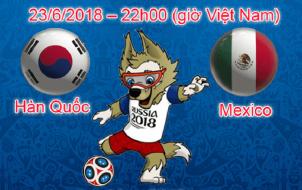 Hàn Quốc và Mexico tại World Cup 2018