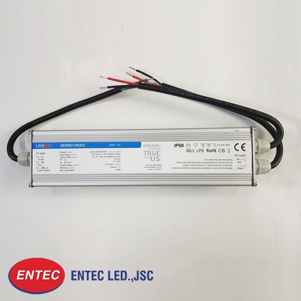 Nguồn union 12v sử dụng với đèn led module, led thanh