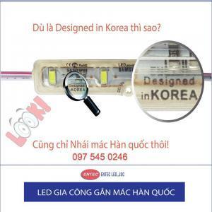 "Sản phẩm nhái ""made in Korea"""