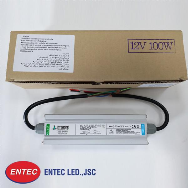 Trạng thái xuất hàng và bảo quản của nguồn led 100W