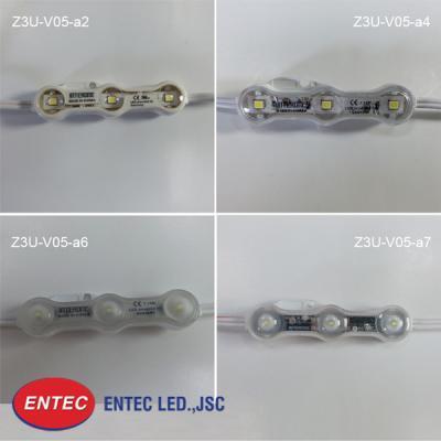 Ứng dụng công nghệ chiếu sáng LED, tích hợp 3 chip LED trong mỗi module, có thiết kế dạng khối chữ nhật được tối ưu hóa.