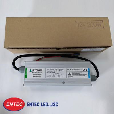 Bộ nguồn led chống nước cao cấp 200w interone do entec phân phối