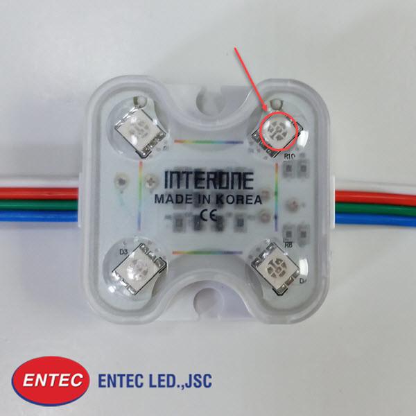 Chip LED SMD tích hợp RGB sản xuất tại Tập đoàn Sam Sung Hàn Quốc