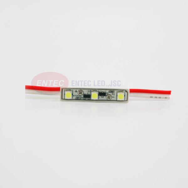 Kích thước nhỏ gọn khiến module led 3T luôn tiện lợi trong trang trí biển quảng cáo