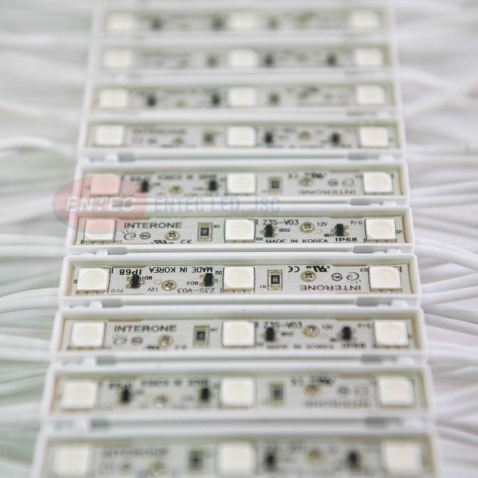 Đèn LED Hàn Quốc - đèn module 3 bóng - đèn led hắt 3 bóng Epoxy