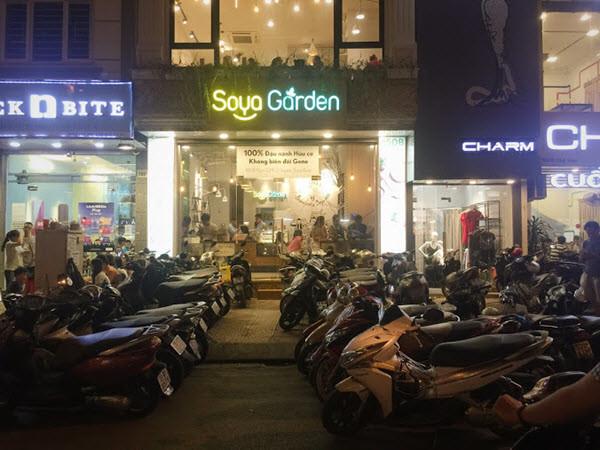 Hệ thống biển hiệu chuỗi cửa hàng Soya Garden