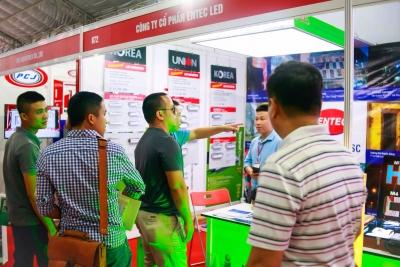 Mời quý khách đến tham quan gian hàng A29 + A30 của ENTEC LED.,JSC