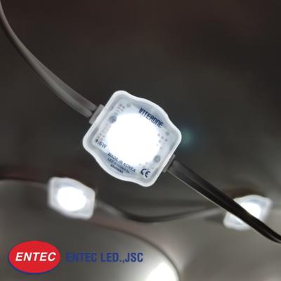 Ánh sáng trắng của module LED 1 bóng có len