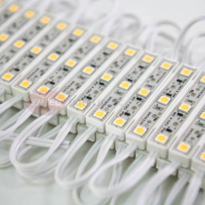 Module LED 3 bóng Epoxy có dây dẫn không phân cực