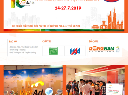 Triển lãm Vietad 2019 TP. Hồ Chí Minh