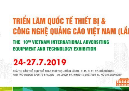 Triển lãm thiết bị và công nghệ VietAd 2019, triển lãm quảng cáoTriển lãm thiết bị và công nghệ VietAd 2019, triển lãm quảng cáo