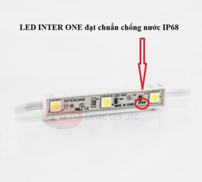 LED INTER ONE chống nước đạt chuẩn IP68