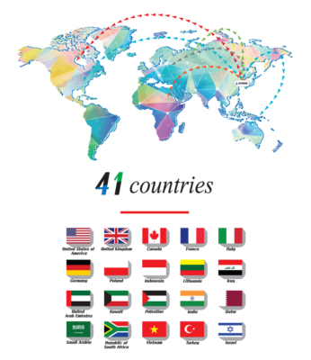 LED INTER ONE xuất khẩu gần 50 Quốc gia trên thế giới