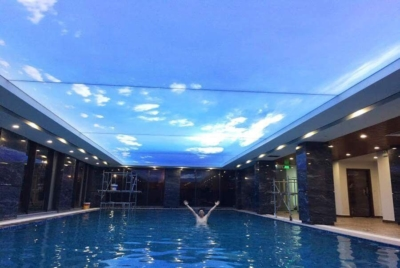 Module LED 3 bóng Epoxy cho trần xuyên sáng bể bơi vô cực lớn nhất Việt Nam