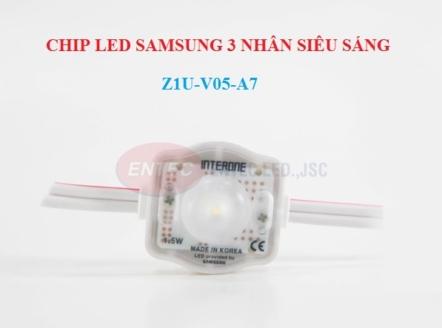 Module LED 1 bóng có len cho trần xuyên sáng