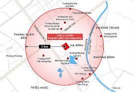 Vùng ảnh hưởng của đám cháy kho nhà máy Rạng Đông