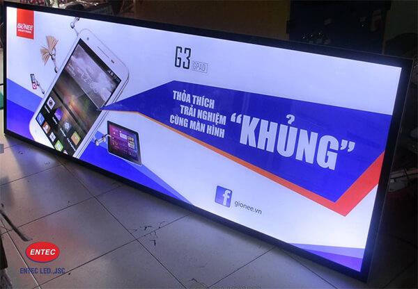 Biển quảng cáo hộp đèn cho cửa hàng
