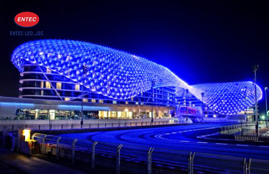 Đèn Led chống nước cho công trình ngoài trời