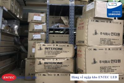 Hàng về ngập kho ENTEC LED