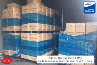 LED Nội Địa Hàn INTER ONE đã được đưa ra cảng để vận chuyển về Việt Nam