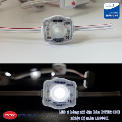 LED 1 bóng INTER ONE nhiệt độ 12000K